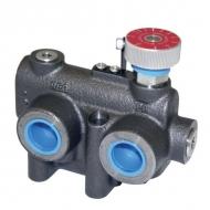RV2FV2V012076 3-drożny regulator przepływu 0-76l/min