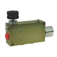 VPR3EP25001ST Zawór regulacji przepływu, 3-drożny, stalowy
