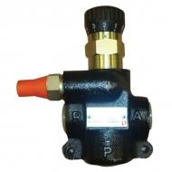MTQA2VB Zawór regulacji przepływu, 3-drożny, 0-25 l/min