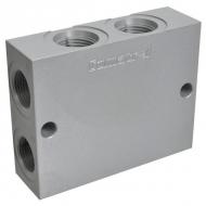 DPL1628B Obudowa aluminiowa podwójna par.16-2-16