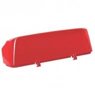 3271103023 Pokrywa obudowy kosza czerwona